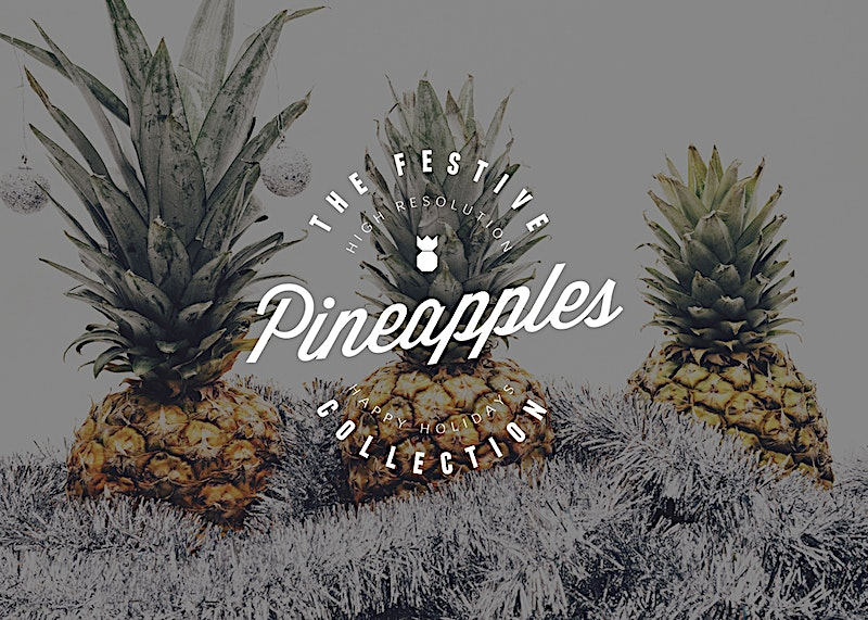 Festive Pineapple Photo Collection