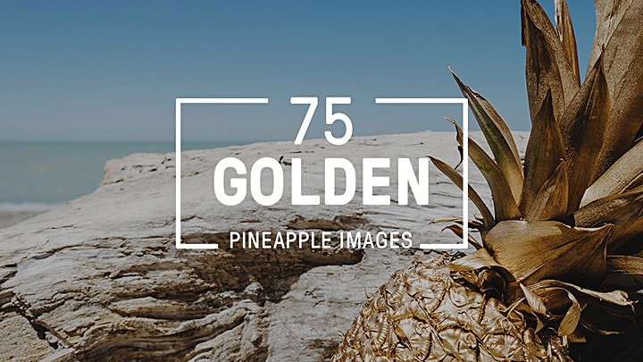 75 Golden Pineapple Images Collection