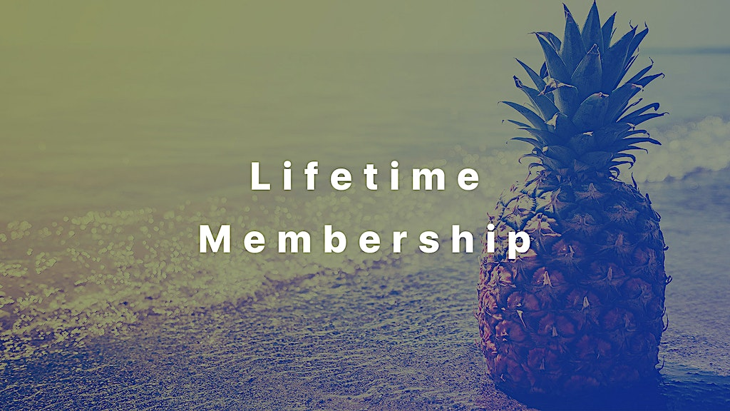 Lifetime Membership access to all pineapple photos and graphics