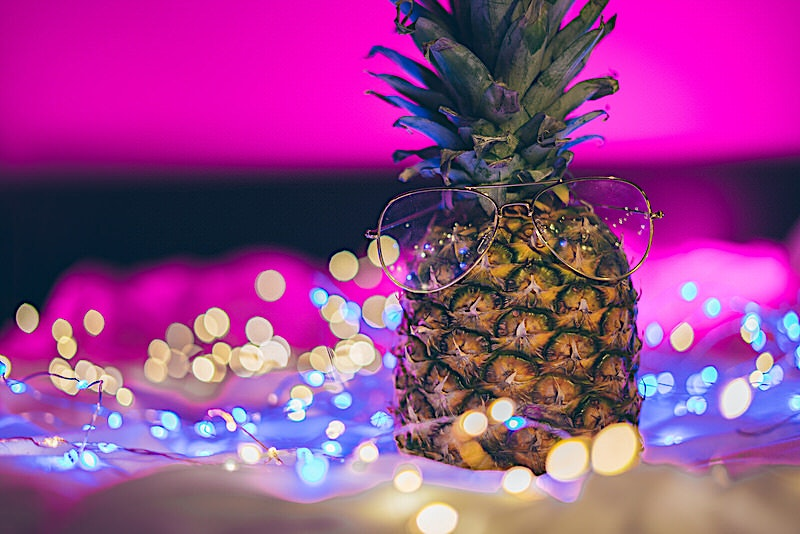 Pineapplescence photo collection inspired by Brandon Woelfel