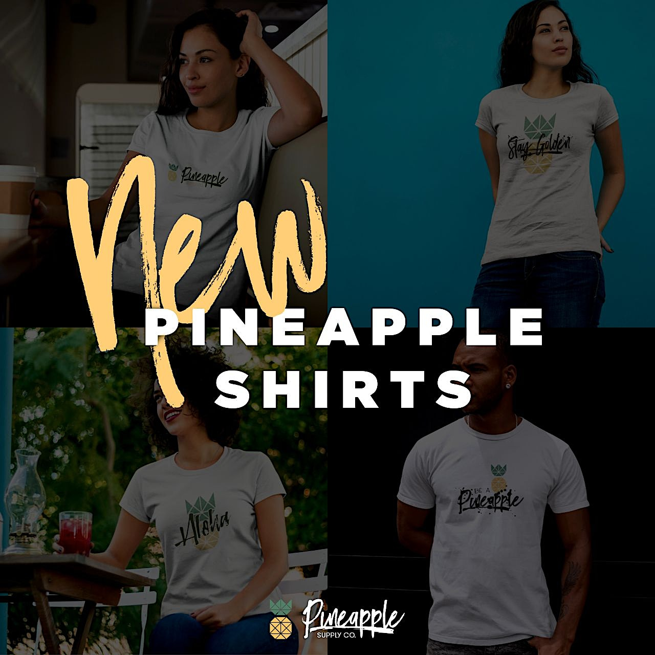 New Pineapple Shirts!