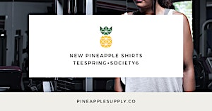New Minimalist Pineapple Shirt