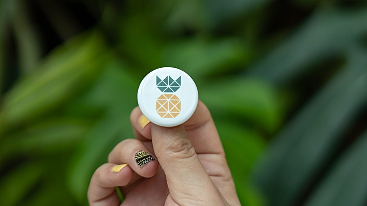Pineapple Buttons for purchase on Pineapple Supply Co.