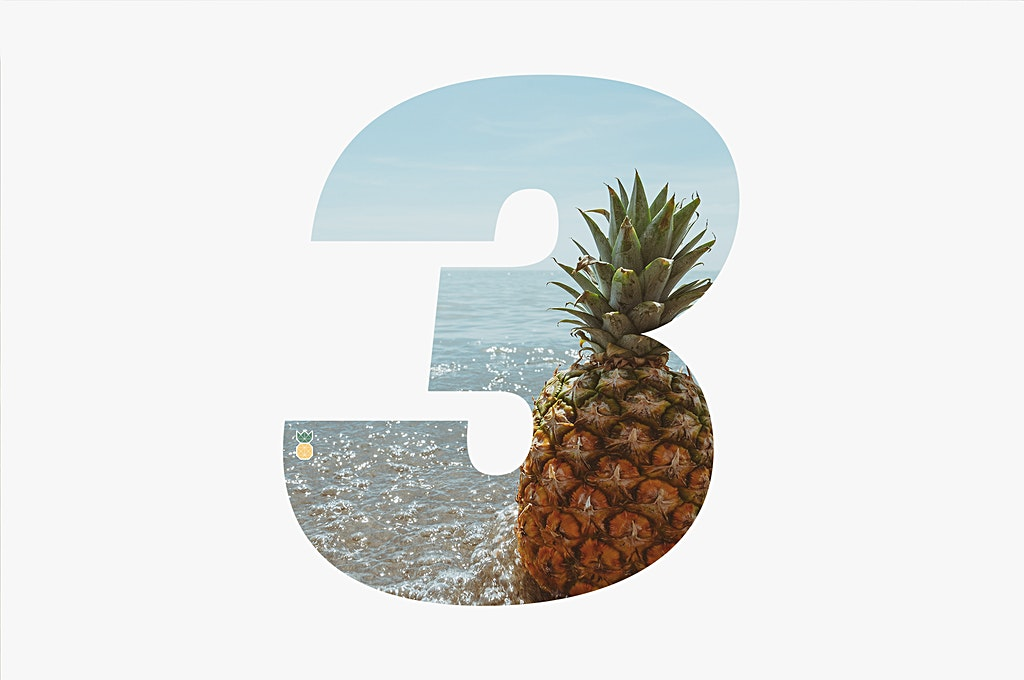 Pineapple Supply Co. Birthday - 3 years Old