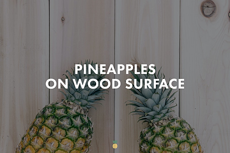 pineapples-wood-surface-collection