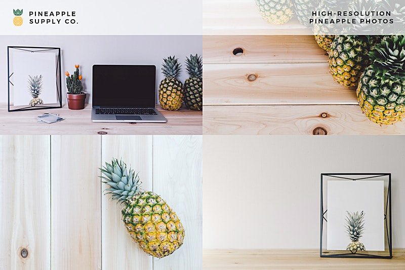 Pineapple Images in This Collection A