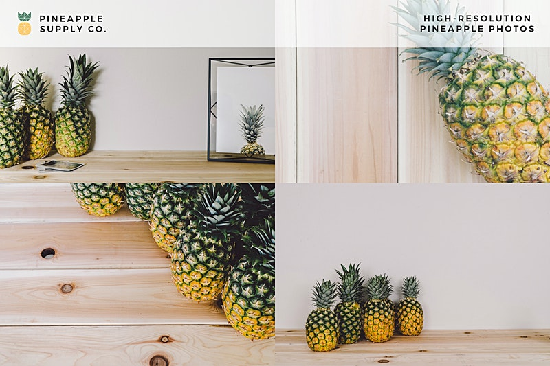 Pineapple Images in This Collection B
