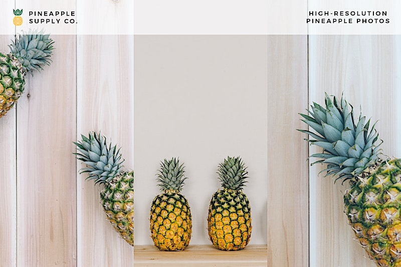 High-Resolution Pineapple photos in This Collection D