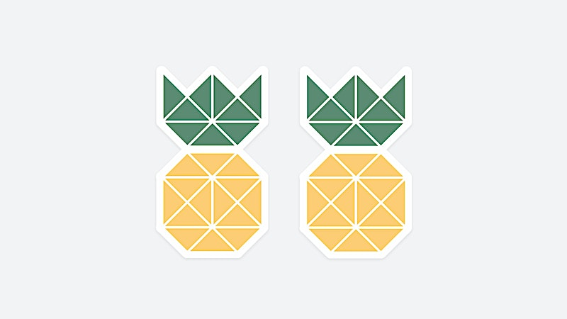 Pineapple Supply Co. Sticker Giveaway for JULY 2017